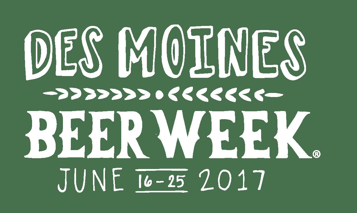 Des Moines Beer Week Logo