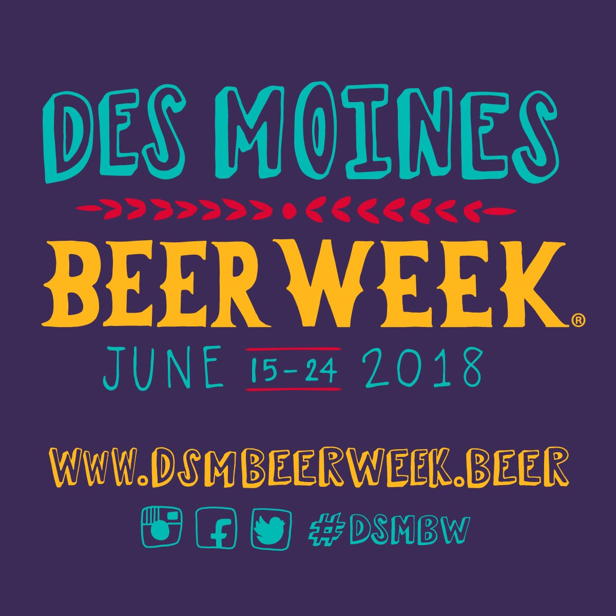 2018 Des Moines Beer Week – June 15-24